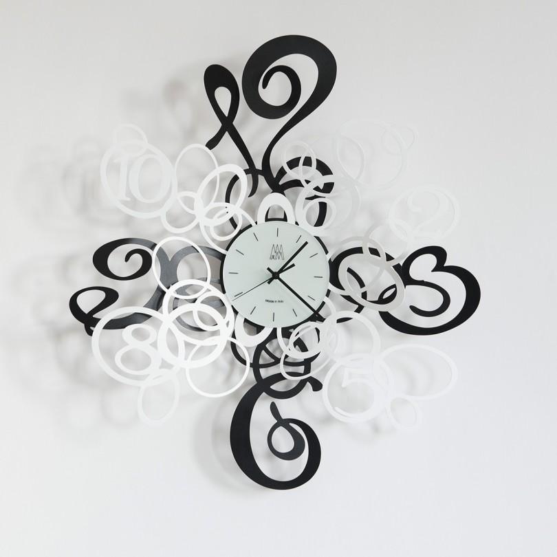 2828_C112 orologio kekasino  nero e bianco