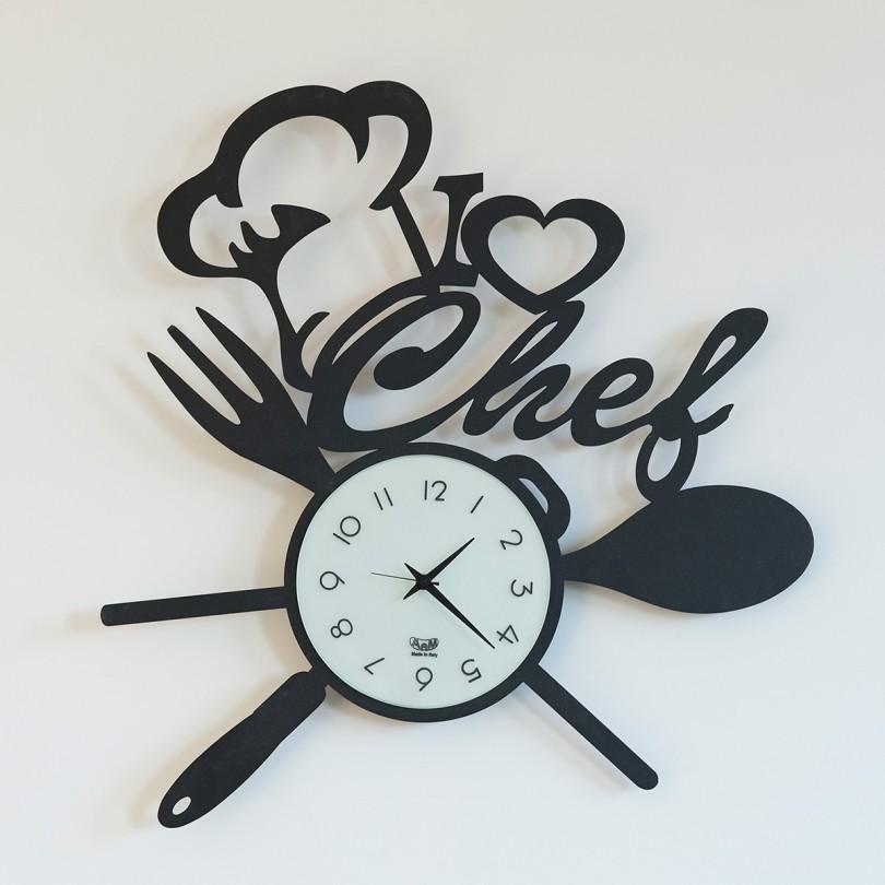 2836_C116 orologio i love chef nero