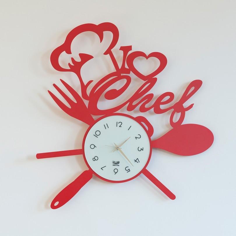 2836_C75 orologio i love chef rosso