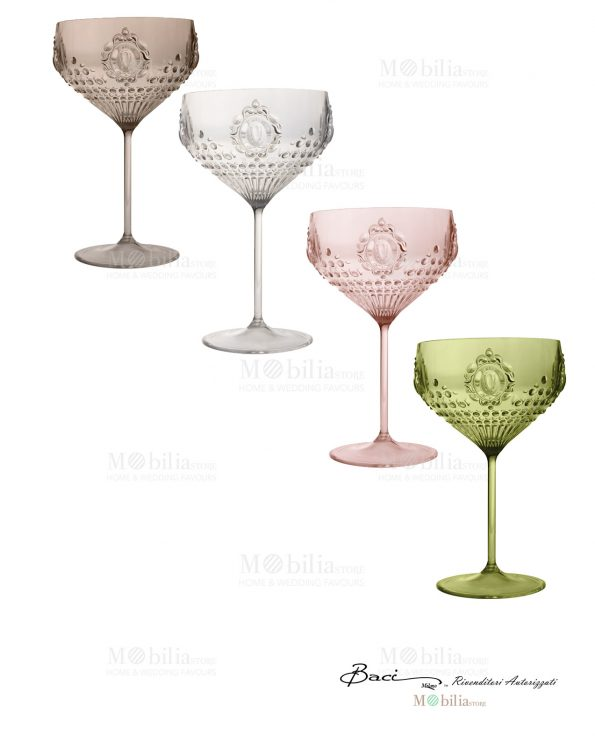 Bicchieri Cocktail Baci Milano