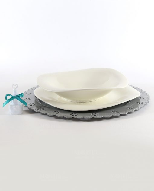 Bolle di sapone con nastro tiffany per matrimonio