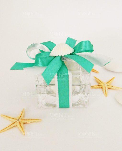 Bomboniera Scatola vetro cristallo