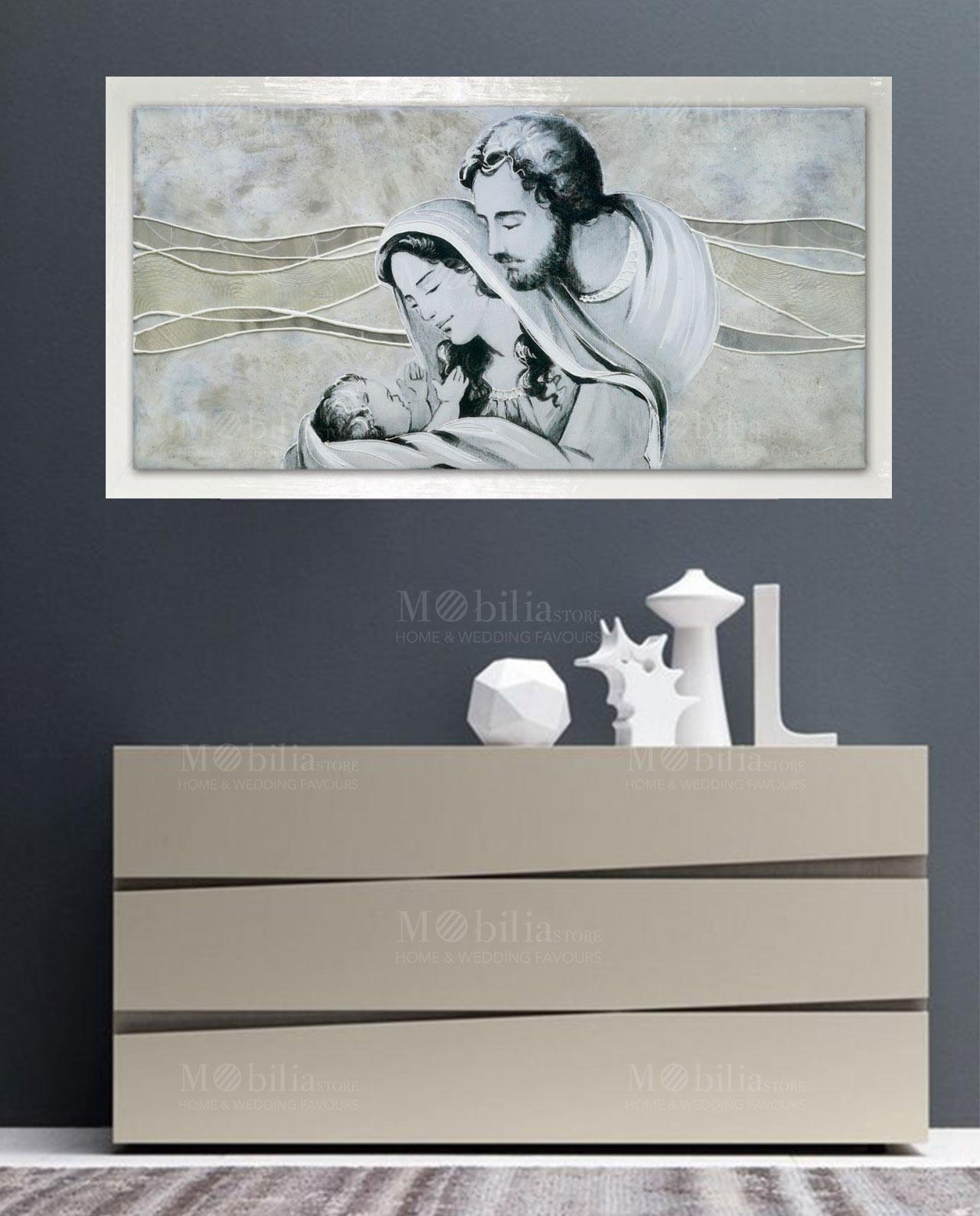 Capezzale sacra famiglia salvadori arte in promozione for Quadri sacra famiglia moderni prezzi