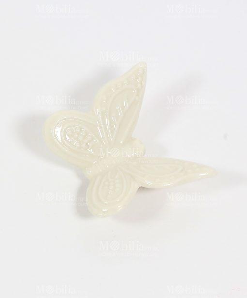 Farfalla Bianca con calamita