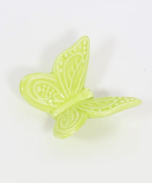 Farfalla Verde con Magnete