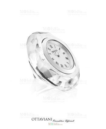 Orologio da tavolo Cristallo Diamante Ottaviani