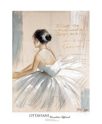 Quadro Ottaviani Ballerina classica