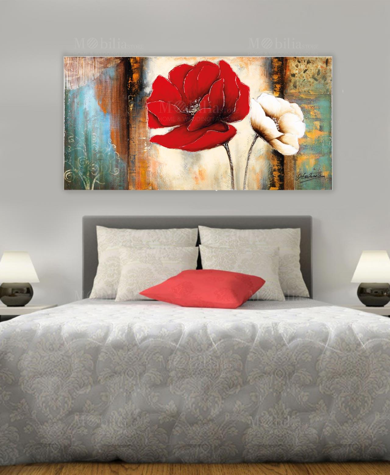 Quadro con fiori ottaviani mobilia store home favours for Mobilia ottaviano