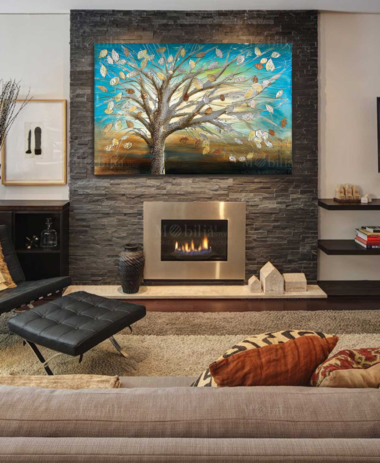 Quadro ottaviani albero dei desideri mobilia store home for Mobilia recensioni