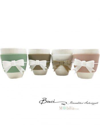 Tazza Mug porcellana Baci Milano