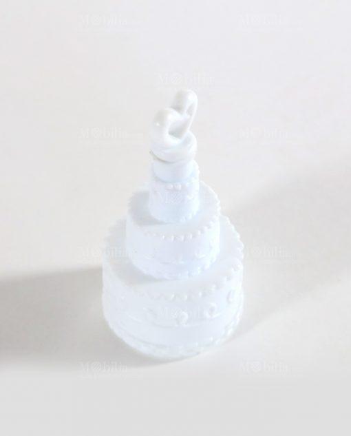 bolle di sapone a forma di torta nuziale