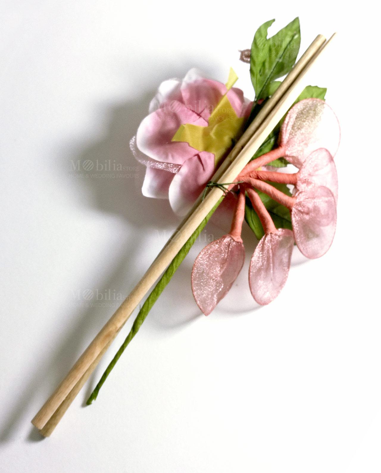 Fiore racchetta portaconfetti vari colori set 6 pezzi for Mobilia store