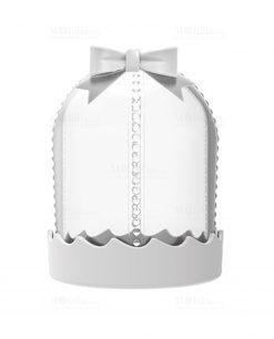 mini bonbon trasparente con cupola
