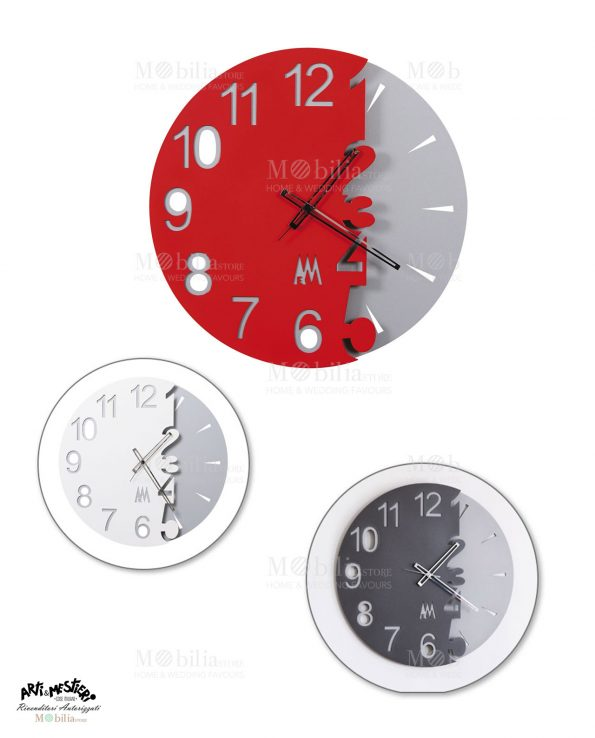 Orologio da Parete Moderno Full Moon Arti e Mestieri