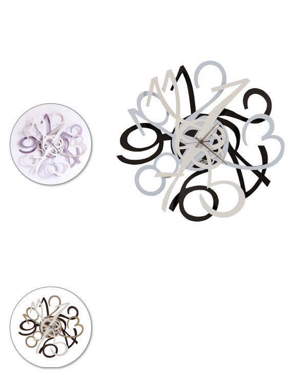 Orologio da parete design Ariel Arti e mestieri