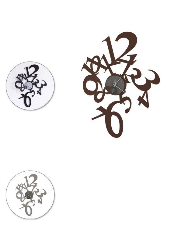 Orologio da parete design Astrid Arti e mestieri