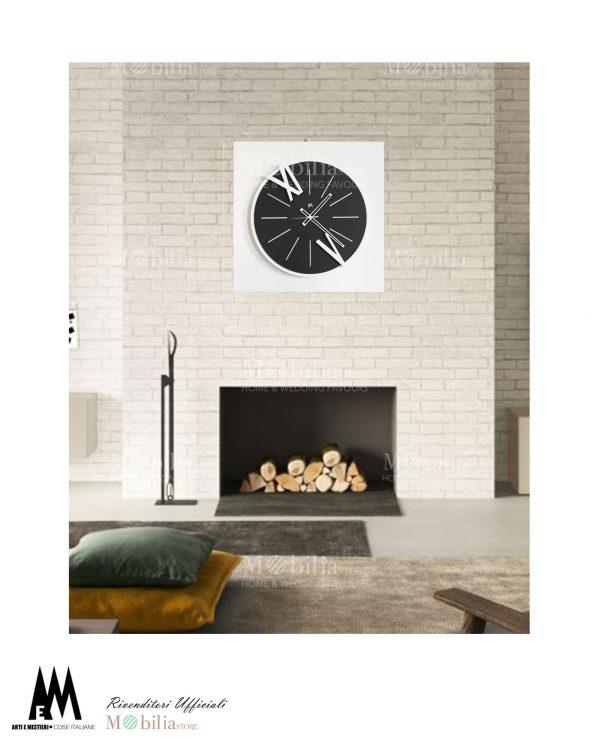 orologio da parete design berto arti e mestieri tre colori