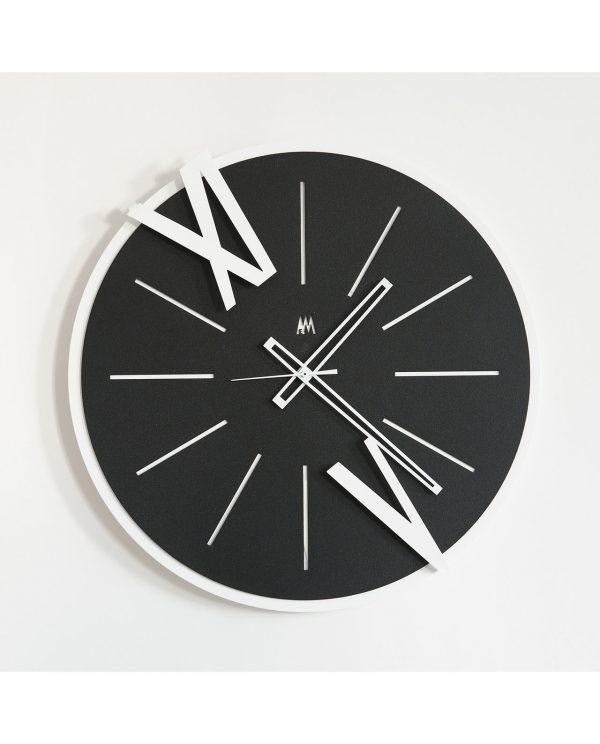 orologio da parete design berto colore nero