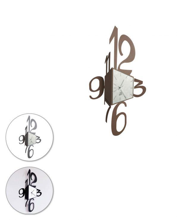 Orologio da parete design Big corner Arti e mestieri