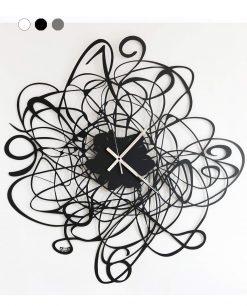 orologio big doodle colore nero arti e mestieri