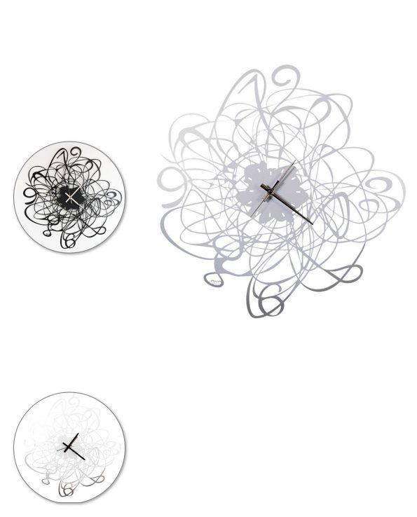 Orologio da parete design Big doodle Arti e mestieri