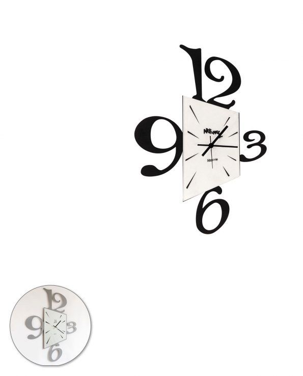 Orologio da parete design Big Prospettiva Arti e mestieri