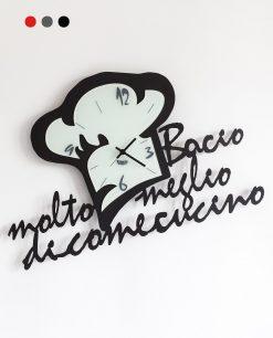 orologio chef in love colore nero arti e mestieri