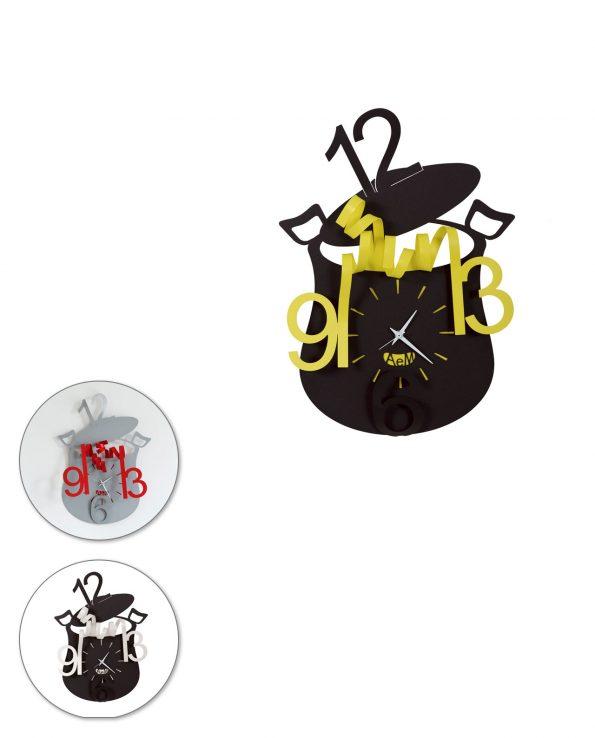 Orologio da parete design Chef Arti e mestieri