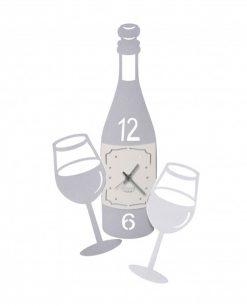 orologio cin cin grigio arti e mestieri