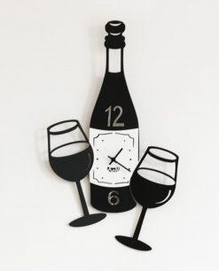 orologio cin cin nero arti e mestieri