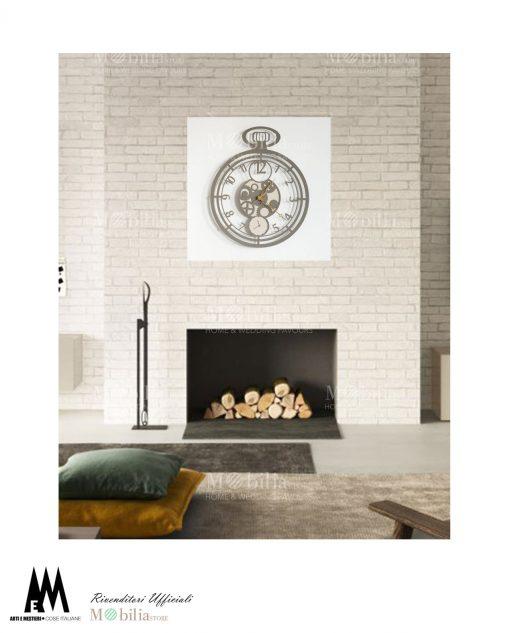 orologio da parete design cipollone arti e mestieri