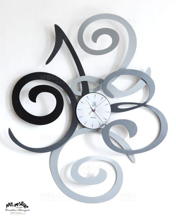 Orologio da Parete Moderno Filomena Argento Arti e Mestieri