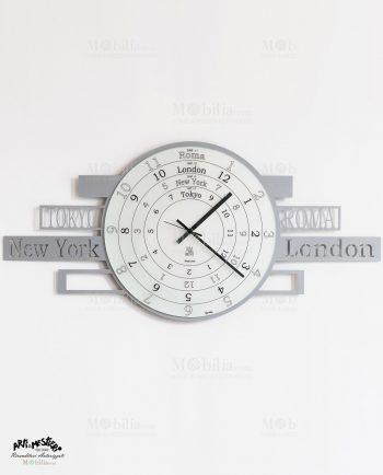 Orologio da Parete Moderno Jet Lag Arti e Mestieri