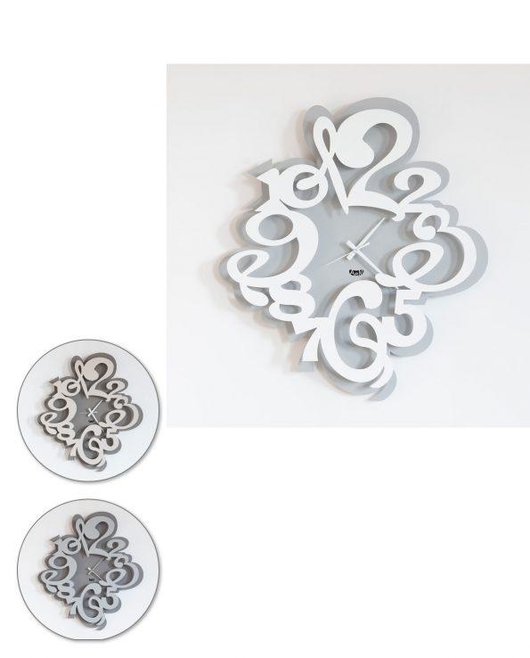 orologio da parete design tyrion arti e mestieri tre colori