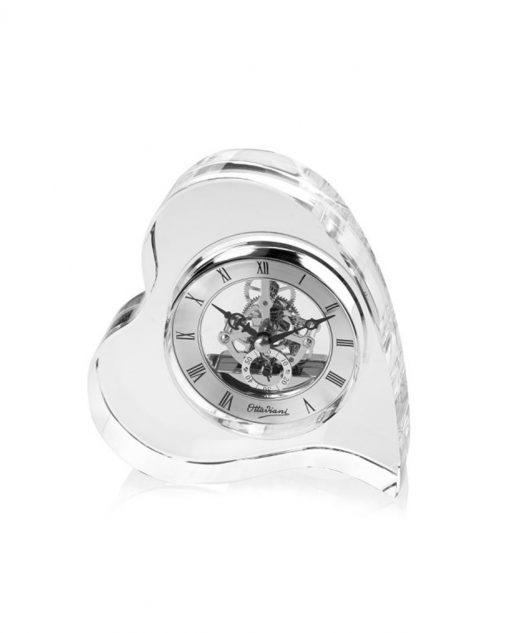 orologio da tavolo forma cuore