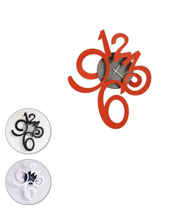 orologio da parete design erasmus piccolo arti e mestieri