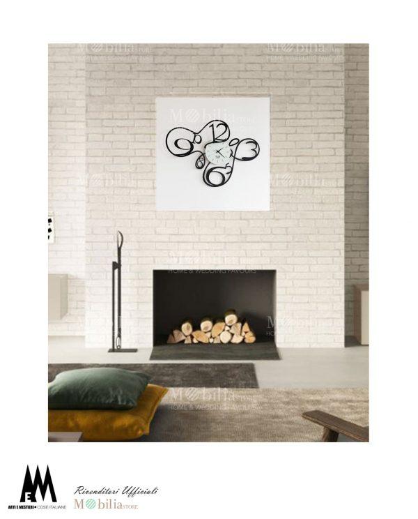 orologio da parete design ghirigori arti e mestieri tre colori