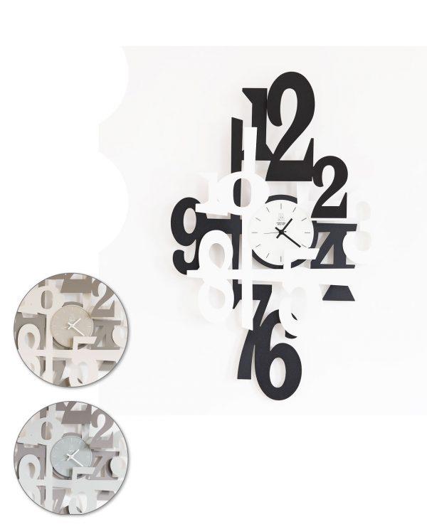 orologio incastro tre colori arti e mestieri