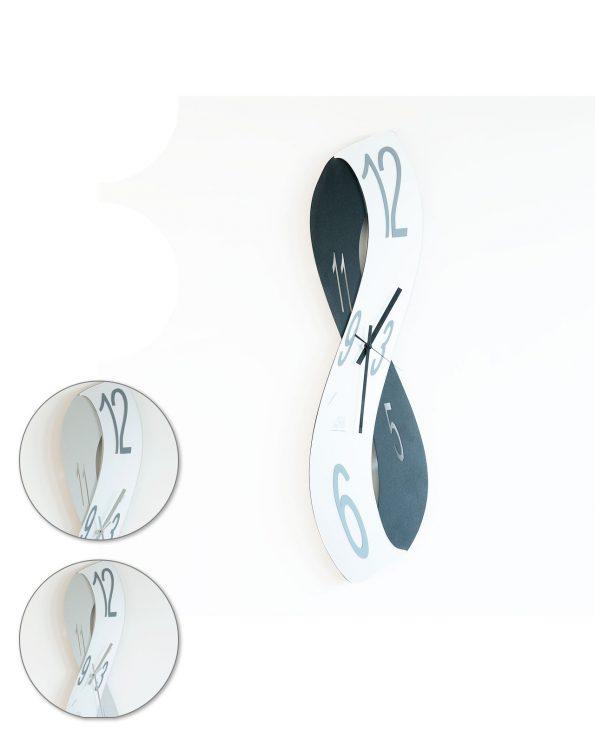 Orologio da parete design Infinity Arti e mestieri