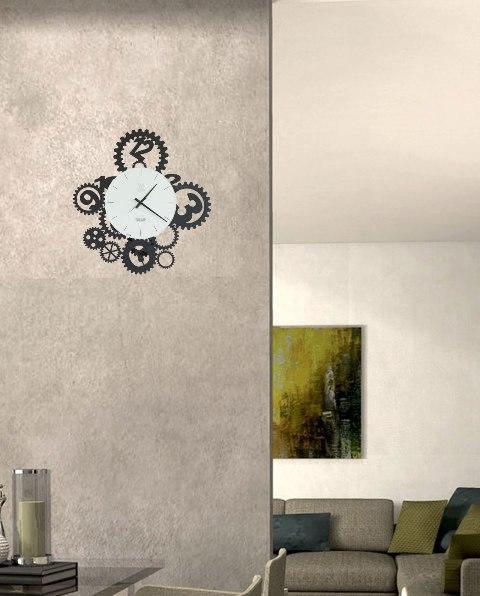 orologio design ingranaggi pendolo arti e mestieri