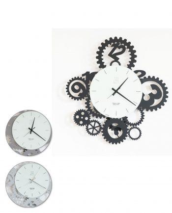 orologio ingranaggi pendolo tre colori arti e mestieri