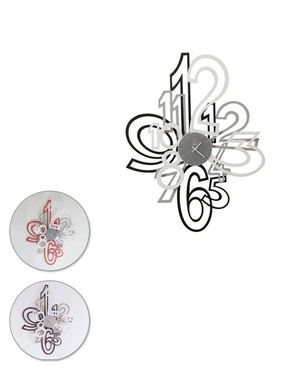 Orologio da parete design Mimic Arti e mestieri