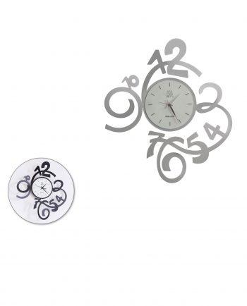 orologio da parete design micro due colori arti e mestieri