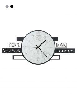 orologio modello jet lag colore nero arti e mestieri