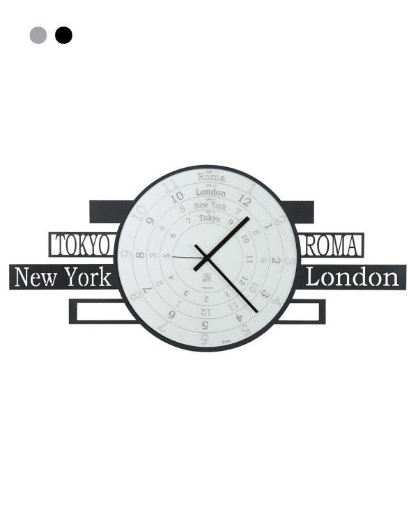 orologio con nomi di città jet lag