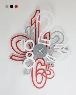 orologio modello mimic colore rosso grigio e bianco arti e mestieri