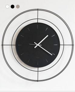 orologio dallo stile minimal colore nero
