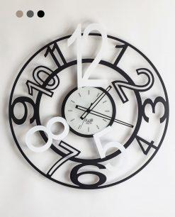 orologio modello orione colore nero e bianco arti e mestieri