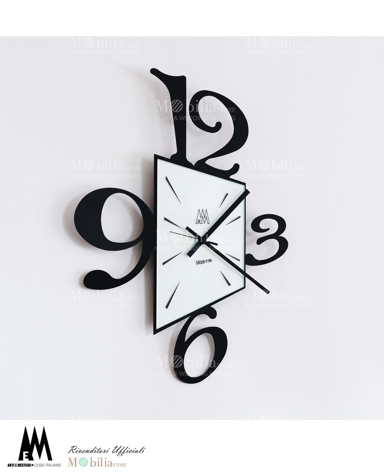 Orologio da parete design big prospettiva arti e mestieri - Orologi da casa moderni ...