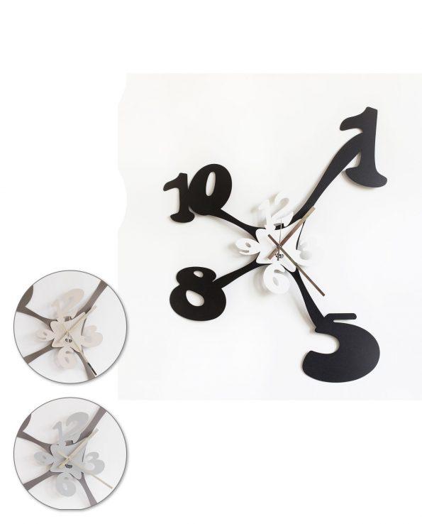Orologio da parete design Tira e Molla Arti e mestieri